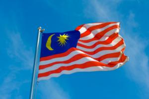 The Malaysian flag
